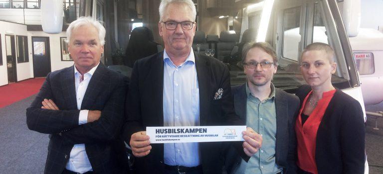 HRF vill ha rättvisare husbilsbeskattning